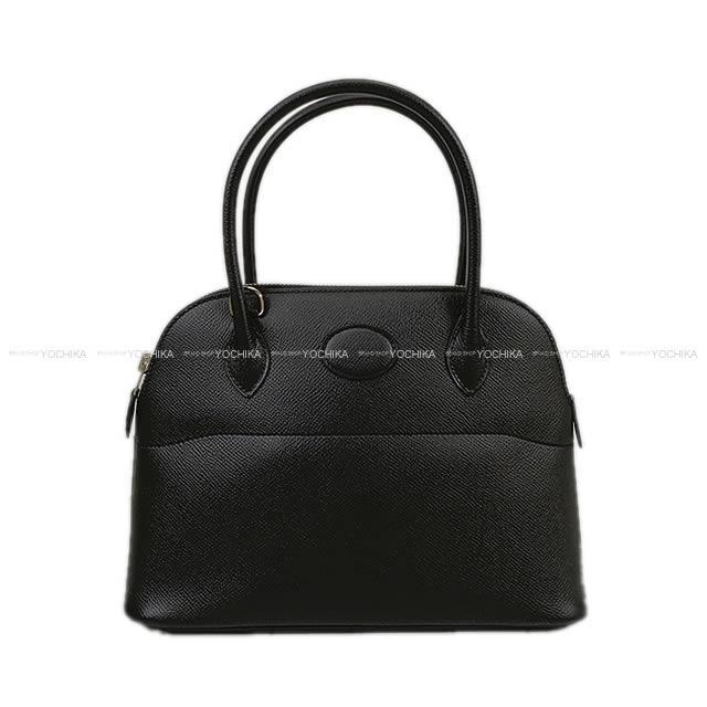 【ご褒美に★】HERMES エルメス ショルダーバッグ ボリード27 黒(ブラック) エプソン シルバー金具 新品同様【中古】 ([Pre-loved]HERMES Shoulder bag Bolide27 Noir(Black) Epsom SHW[Near mint][Authentic])【あす楽対応】#yochika