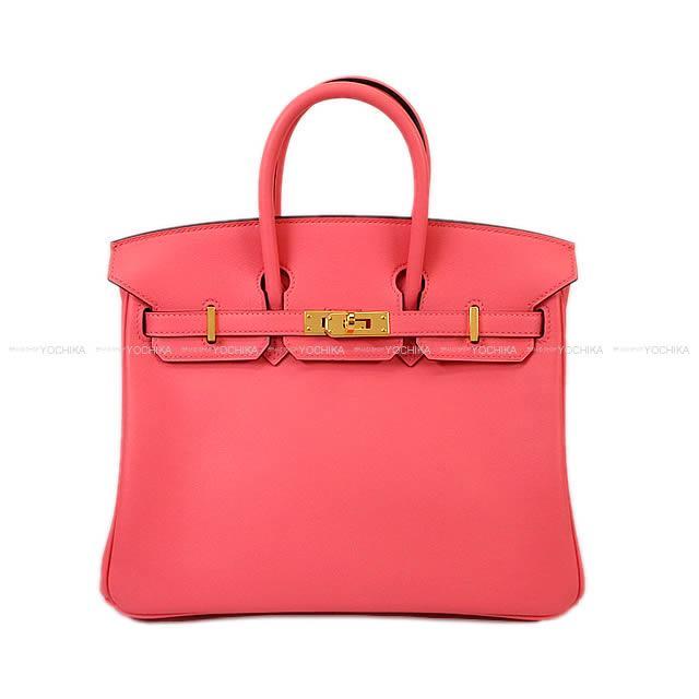 【ご褒美に★】HERMES エルメス ハンドバッグ バーキン25 ローズアザレ スイフト ゴールド金具 新品未使用 (HERMES Handbag Birkin 25 Rose Azalee Swift GHW[Never used][Authentic])【あす楽対応】#yochika
