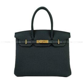 【ご褒美に★】HERMES エルメス ハンドバッグ バーキン30 ヴェールシプレ(サイプレス) トゴ ゴールド金具 新品 (HERMES Handbags Birkin 30 Vert cypres Togo GHW[Brand New][Authentic])【あす楽対応】#よちか