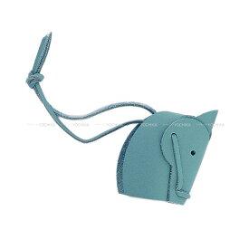 """【ご褒美に★】HERMES エルメス 組立式 バッグチャーム """"テットゥ ドゥ シュヴァル"""" ブルーサンシール スイフト 新品 (HERMES Prefabricated Bag Charm """"TETE DE CHEVAL"""" Blue Saint Cyr Swift [Brand New][Authentic])【あす楽対応】#yochika"""