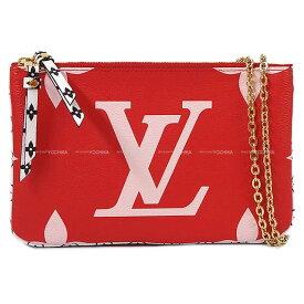 【エントリーでポイント10倍★7/21-26迄】2019年 春夏 LOUIS VUITTON ルイ・ヴィトン チェーンショルダー ウォレット ''ポシェット ドゥ—ブルジップ'' M67561 新品 (LOUIS VUITTON Shoulder wallet Bag ''Pochette Double Zip'')【あす楽対応】#よちか
