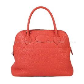 【夏のご褒美に★】HERMES エルメス ハンドバッグ ボリード31 ローズジャイプール トリヨン シルバー金具 新品同様【中古】 ([Pre-loved]HERMES Handbag Bolide 31 Rose Jaipur Taurillon Clemence SHW [Near mint][Authentic])【あす楽対応】#よちか