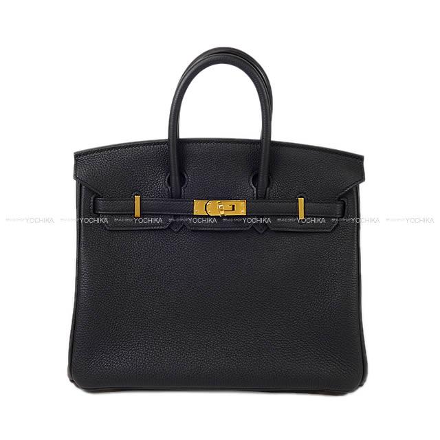 【値下げ!】【ご褒美に★】HERMES エルメス ハンドバッグ バーキン25 黒(ブラック) トゴ ゴールド金具 新品