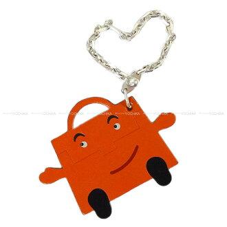 "HERMES Hermes limited bag charm key ring ""Kelly Doll"" Orange vortadelacto new unused (HERMES bag charm Keyring ""kelly doll"" kelly idole orange Veau Tadelakt [Never used], [Authentic]) # I'm Chika"