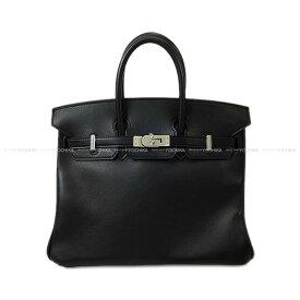 【キャッシュレスポイント還元★】HERMES エルメス ハンドバッグ バーキン25 黒(ブラック) スイフト シルバー金具 新品 (HERMES handbag Birkin 25 Black Swift SHW[Brand new][Authentic])【あす楽対応】#よちか