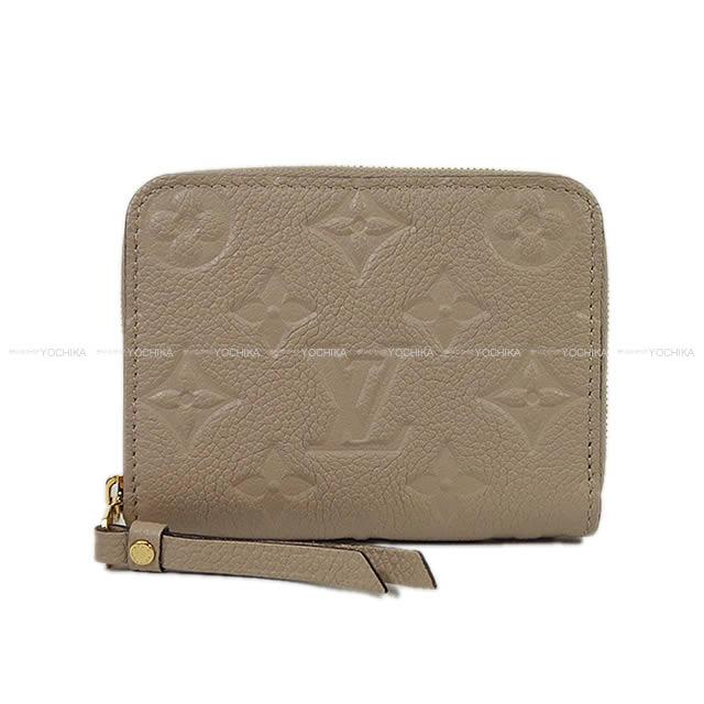 """【冬ボーナスで★】LOUIS VUITTON ルイ・ヴィトン コインケース """"ジッピーコインパース"""" ガレ ベージュ モノグラムアンプラント M60741 新品未使用 (LOUIS VUITTON Zippy Coin purse Galle Beige monogram empreinte M60741[Never used][Authentic])【あす楽対応】#よちか"""