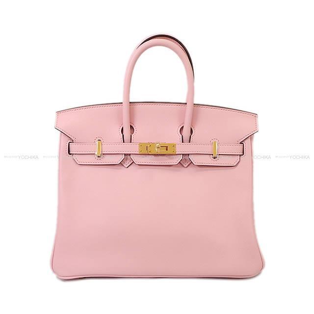 【ご褒美に★】HERMES エルメス バーキン25 ローズサクラ スイフト ゴールド金具 新品未使用 (HERMES handbags Birkin25 Rose sakura Swift GHW[Never used][Authentic])【あす楽対応】#よちか
