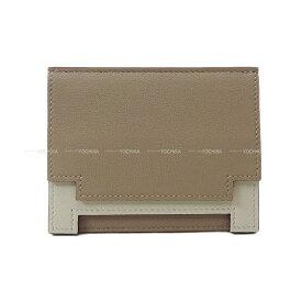 【ご褒美に☆】HERMES エルメス カードケース ''ミュルチプリ'' グリアスファルト/グリスパール(パールグレー) スイフト 新品未使用 (HERMES Card case ''Multiplis'' Gris asphalt/Gris pearl(Pearl gray) Swift [Never Used][Authentic])【あす楽対応】#よちか