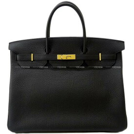 【ご褒美に☆】HERMES エルメス ハンドバッグ バーキン40 黒(ブラック) トゴ ゴールド金具 展示新品 (HERMES Handbags Birkin40 Noir(Black) Togo GHW[Exhibision][Authentic])【あす楽対応】#よちか
