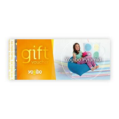 Yogibo Pyramid ギフト券 / ヨギボー【ビーズクッション プレゼント 贈り物 記念品】【分納の場合有り】
