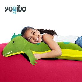 Yogibo Roll Animal Alligator - ロール アニマル アリゲーター(アリー) 抱き枕 ワニ 鰐 キャラクター【ビーズクッション】