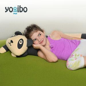 【ポイント10倍 7/26(月)1:59まで】Yogibo Roll Animal Panda - ロール アニマル パンダ(シェルビー) 抱き枕 キャラクター【ビーズクッション】