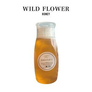 【抗生物質不使用・非加熱・生産者直送】国産 おいしいはちみつ〈里山百花蜜〉 500g 人気のボトルタイプ 生蜂蜜 静岡県 RAWHONEY 2021年新蜜