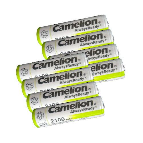 送料無料ニッケル水素充電池 単3形 2100mAhCamelion NH-AA2100ARBC4 単3形/4本入×2-8本セット
