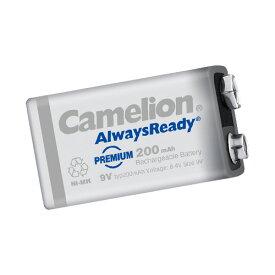 ネコポス ニッケル水素充電池6P形 Camelion 9V角形 NH-9V200ARBP1