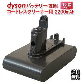 送料無料 ダイソン dyson用 互換バッテリー (2,200mAh) ネジ式 DC31 DC34 DC35 DC44 DC45