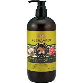 【送料無料】熊野油脂 ディブ 3種のオイル シャンプー (馬油・椿油・ココナッツオイル) 本体 480mL 1個