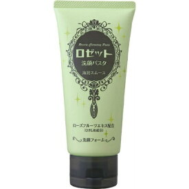 【配送おまかせ送料込】ロゼット 洗顔パスタ 海泥スムース 120g 無香料 無着色 無香物油 1個