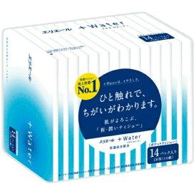 大王製紙 エリエール +Water(プラスウォーター) ポケット 28枚(14組)14パック入