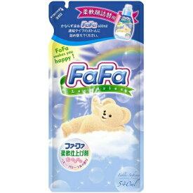 【送料無料・まとめ買い12個セット】ファーファ 濃縮柔軟剤 ベビーフローラルの香り 詰替用 540mL