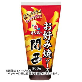 【送料無料】 オリバー お好み焼ソース 関西 500g×12個セット