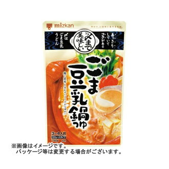 The Mizkan sesame soybean milk hot pot soup straight 750 g *12 set which closes it, and is delicious to a Japanese hawfinch