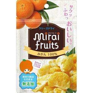 【送料込・まとめ買い×8個セット】ビタットジャパン ミライフルーツ みかん 10g