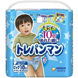 【送料無料】ユニ・チャーム トレパンマン 男の子用 ビッグサイズ 18枚入