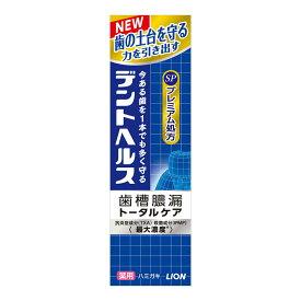 ライオン デントヘルス 薬用ハミガキSP 90g 医薬部外品(歯周病歯磨き 歯槽膿漏対策)(4903301248958)