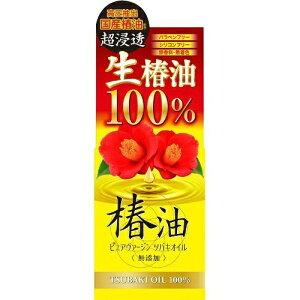 コスメティックローランド ピュアヴァージン ツバキオイル ヘアオイルT 40ml 国産生椿油100%( 4936201101351 )