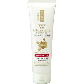 熊野油脂 四季折々 白椿油Wクレンジング洗顔フォーム 190g