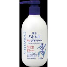 熊野油脂 麗白 ハトムギ UVミルキージェル 250ml