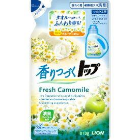 【送料無料】ライオン トツプ 香りつづくトップ Fresh Camomile つめかえ用 810g 1個