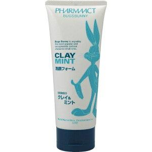 【×4個セット送料無料】熊野油脂 バックスバニー クレイ&ミント 洗顔フォーム 130G (4513574011762)