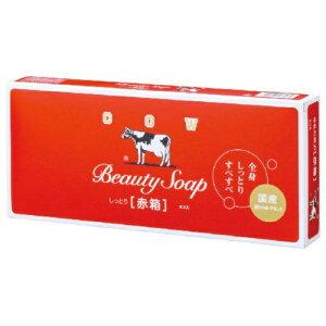 牛乳石鹸 カウブランド 牛乳石鹸 赤箱 100g×6個入 ローズ調の香り