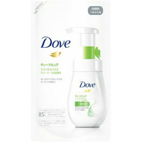 ユニリーバ ダヴ ディープピュア クリーミー泡洗顔料 つめかえ用 140ml ( スキンケア・美容・洗顔料 )