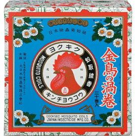 【送料無料・まとめ買い4個セット】大日本除虫菊 金鳥の渦巻 K 30巻入 ( 紙函 ) ( 蚊取り線香 )
