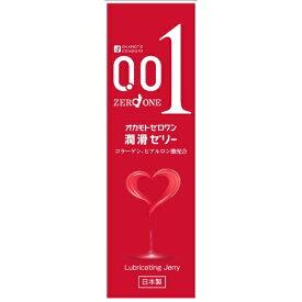 【送料無料・まとめ買い4個セット】オカモト ゼロワン 潤滑ゼリー 50g 日本製 無臭・無色透明