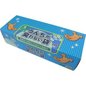 【送料無料×3コセット】クリロン化成 BOS(ボス) うんちが臭わない袋 ペット用 Sサイズ 200枚入り