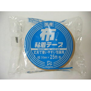 【×10個セット送料込み】カモ井加工紙 DN2 布粘着テープ 50MM×25M ( 国産 )(4975810180142)段ボールの封緘、宅急便や小包の荷造り等にお使いいただけます