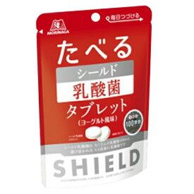 【まとめ買い・送料無料】NEW 森永 たべる シールド乳酸菌タブレット 33g×12袋 ヨーグルト風味(食品 シールド乳酸菌)