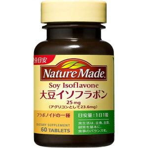 【送料無料・まとめ買い×6個セット】大塚製薬 ネイチャーメイド 大豆イソフラボン 60粒