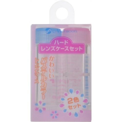 【送料無料・まとめ買い×6個セット】メニコン ハードレンズケースセット 2