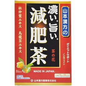 【送料無料・3個セット】山本漢方製薬の濃い旨い減肥茶 10g×24包