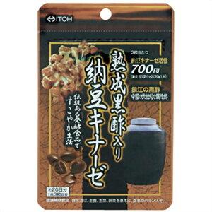 【送料無料・まとめ買い×2個セット】井藤漢方製薬 熟成黒酢入り 納豆キナーゼ 60球
