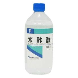 【×2本セット送料無料】【健栄製薬】氷酢酸P 500ml(4987286407876)