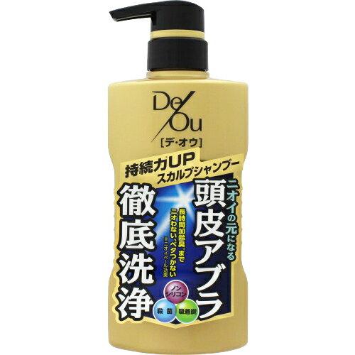 【ロート製薬】デ・オウ 薬用スカルプケアシャンプー 400ml