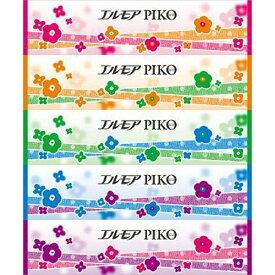 【送料込・まとめ買い×6個セット】カミ商事 エルモア ピコティシュー 320枚 ( 160組 ) ×5個入りパック ( ティッシュペーパー箱 )