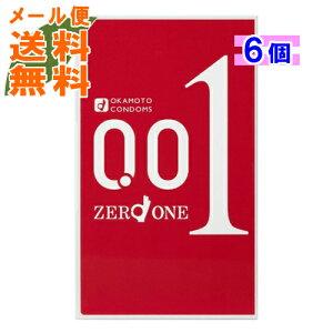 【×6個 メール便送料無料】オカモト ゼロワン 3個入パック (4547691749192) スキン・コンドーム・避妊具