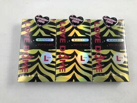 【×3個 配送おまかせ送料込】オカモト ラブドーム タイガー ゆったりLサイズ 12個入(4547691721280)スキン コンドーム 避妊具